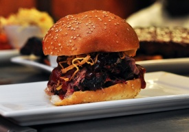 Our BBQ Sandwiches cannot be beat! Slow smoked and oh so good!